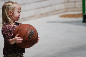 girl, basketball, cute