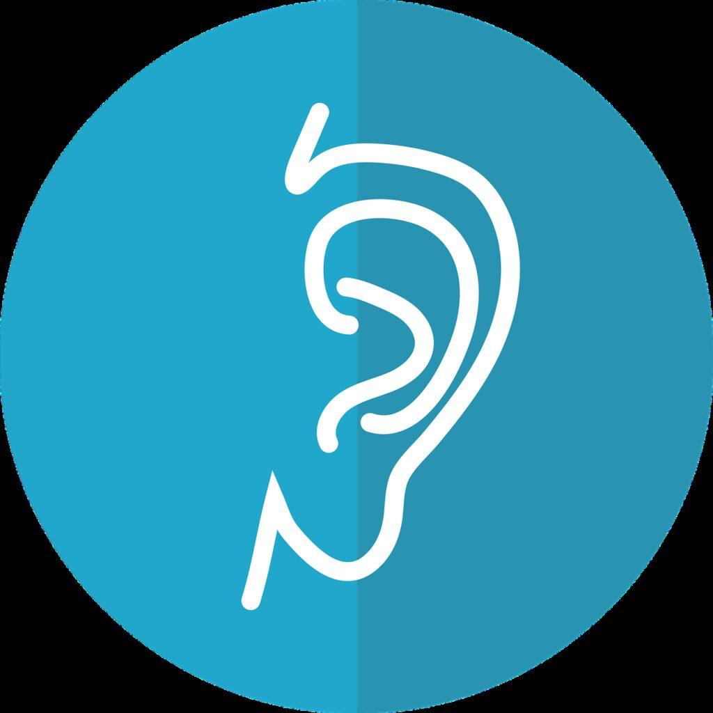 ear icon, ear, hearing