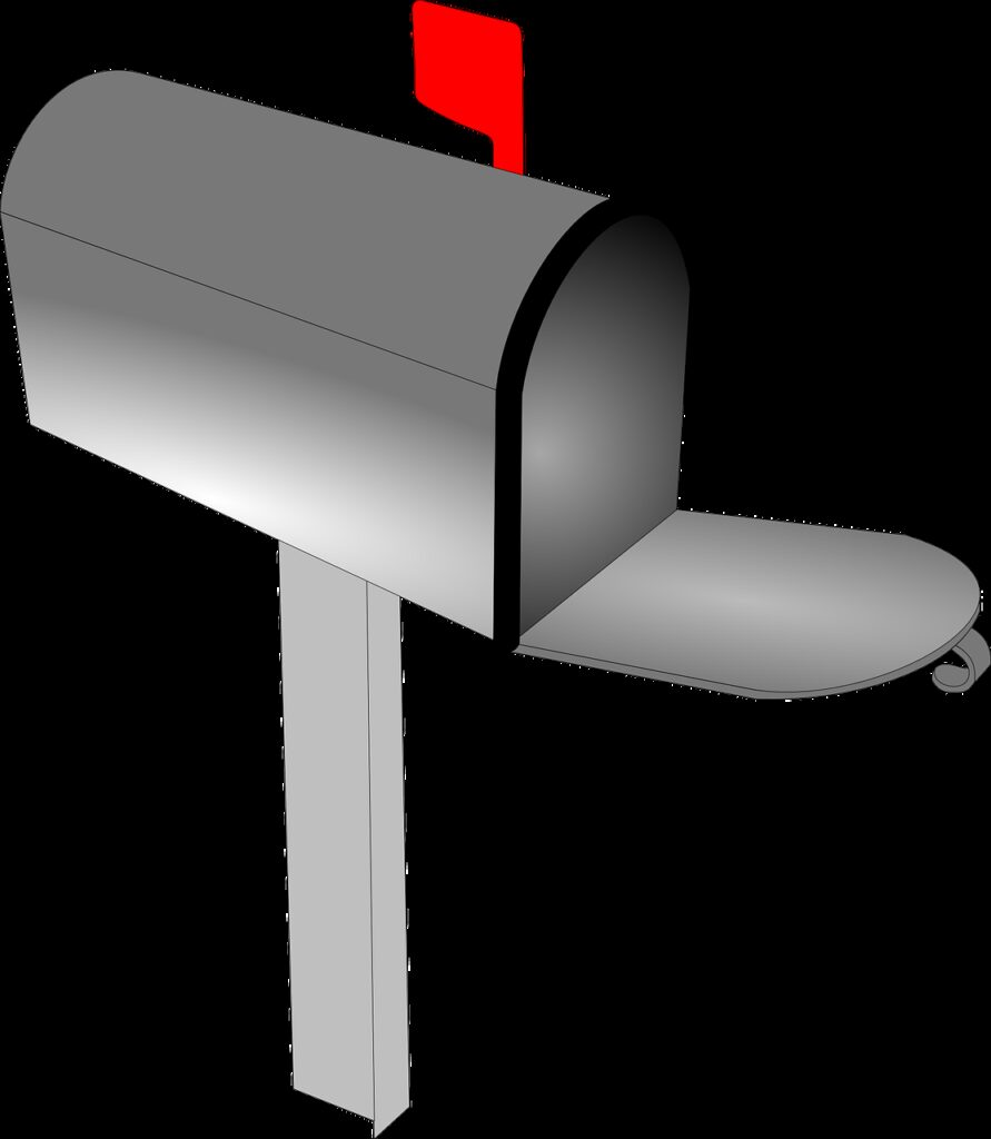 mailbox, mail, letter