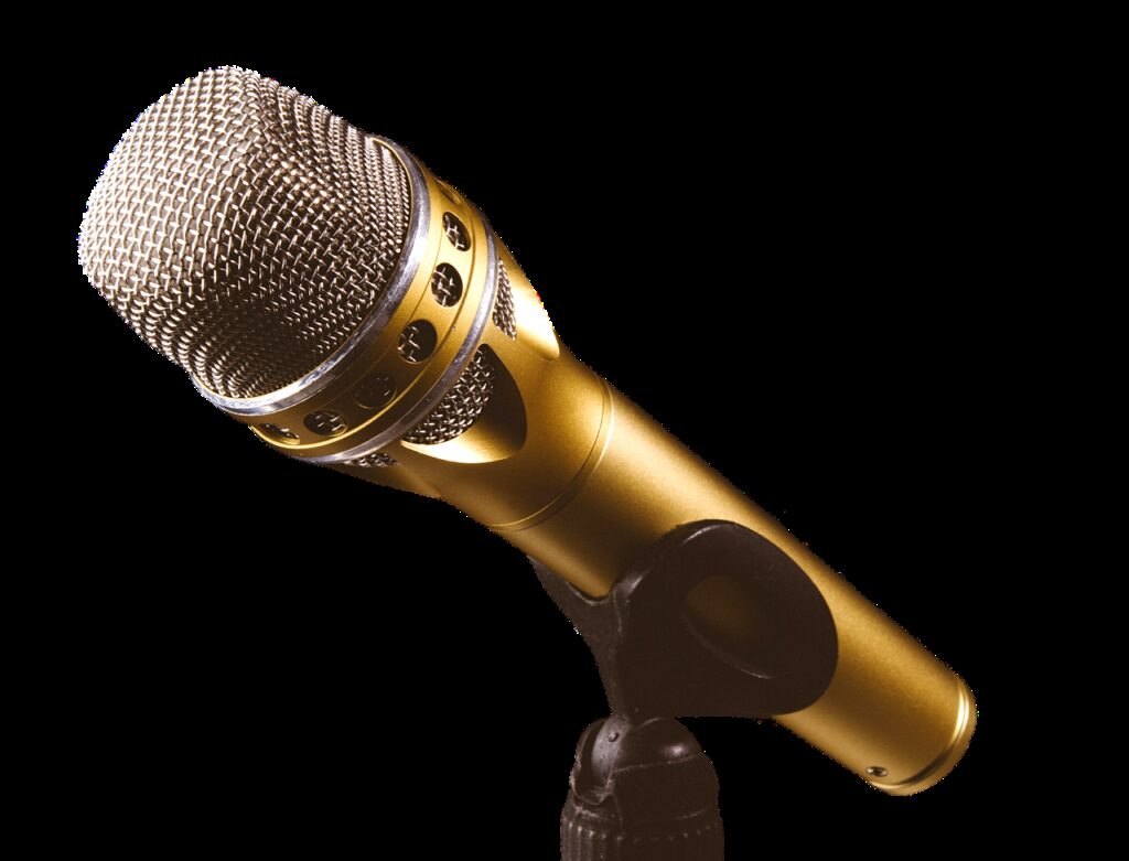 microphone, music, to sing