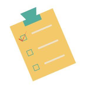 checklist, planning, clipboard