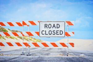 signpost, closed, road-sign